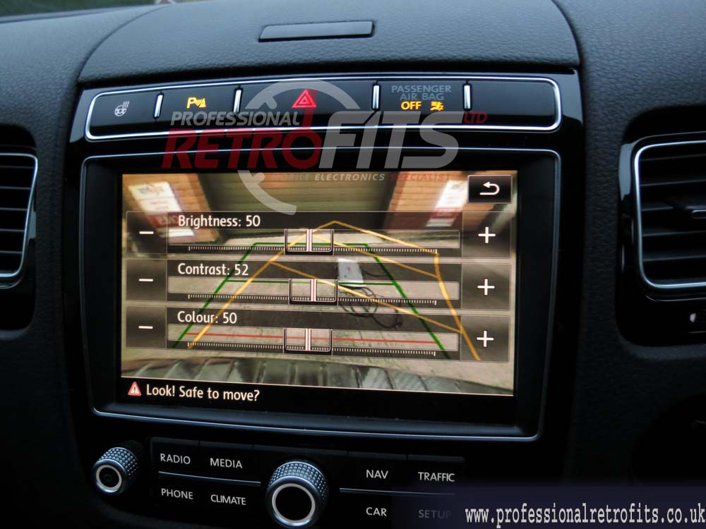 VW Golf Mk7 Rear View Camera