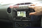 vw amarok rear view higline camera display
