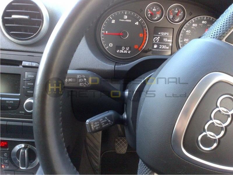 Audi A3 8p 2004 2012 Oem Cruise Control Retrofit