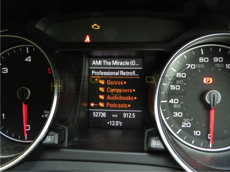 Audi AMI MMI ipod iphone kit