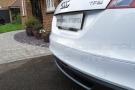 2013_audi_tt_ibis_white_rear_parking_sensors_retrofit_cobra_parkmaster_r0394_radio_muting__oem_reversing_sensors
