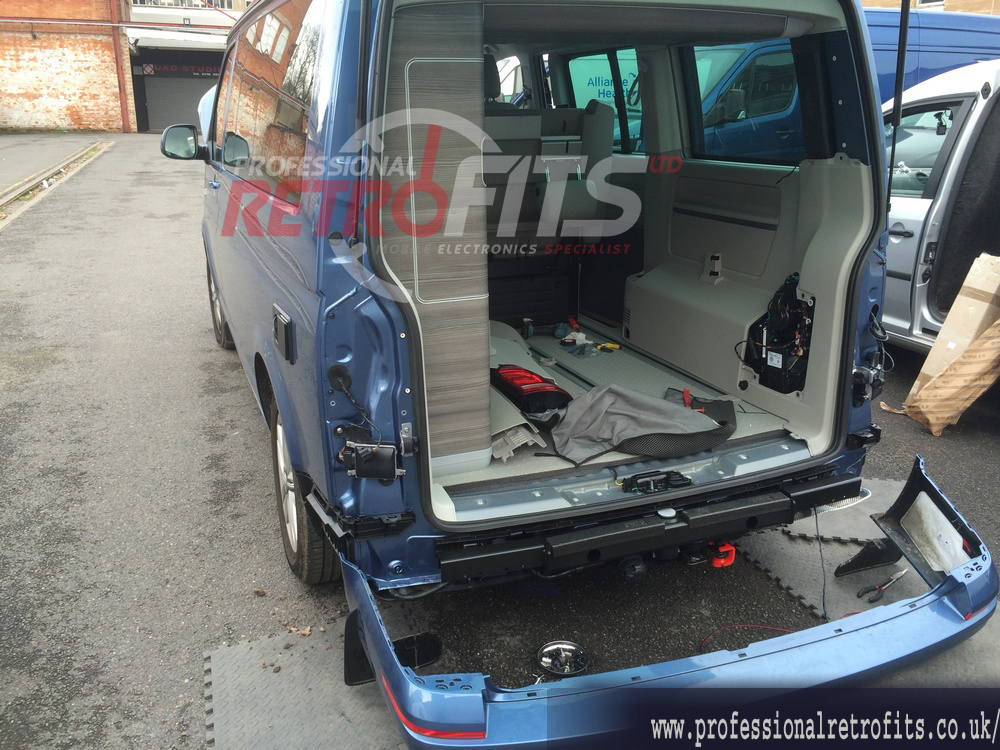 VW T5 and T6 Front and Rear OPS Parking Sensors