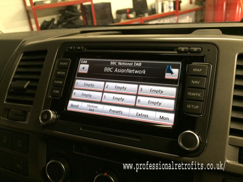 vw t5 genuine vw rns510 navigation system. Black Bedroom Furniture Sets. Home Design Ideas
