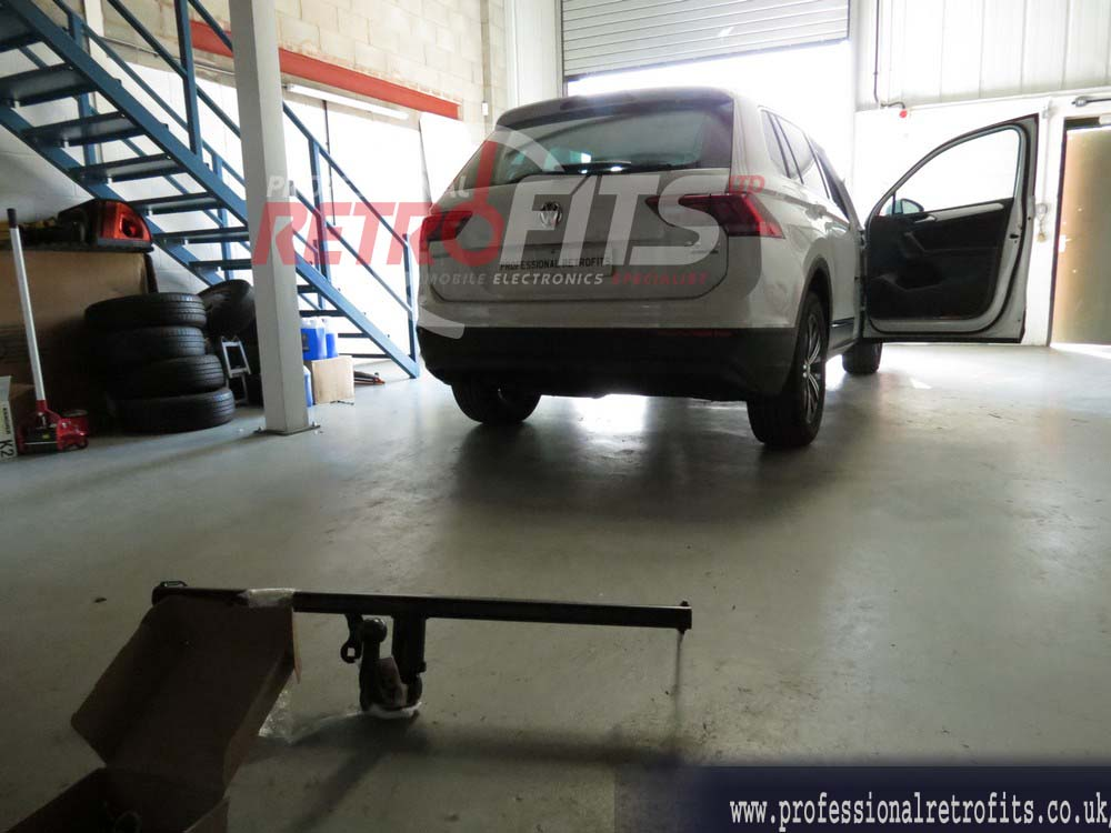 Vw Tiguan Westfalia Tow Bars