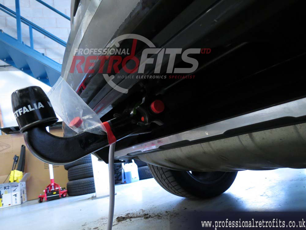 vw tow bar instructions