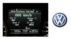 FISCON Bluetooth Handsfree - VW RCD 550 Touareg 7P