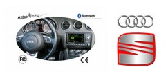 Fiscon Bluetooth Basic Plus Audi Seat
