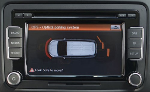 VW Optical Parking Sensors
