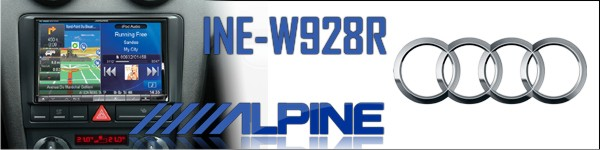 Alpine INE- W928R for Audi
