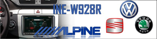 Alpine INE- W928R for VW Seat and Skoda