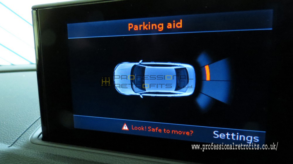 Audi Rear OPS Parking Sensors