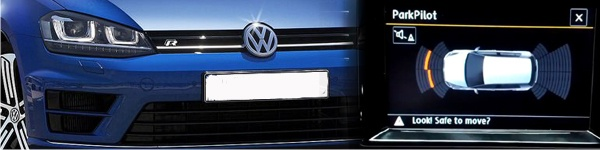 VW Front OPS supplied and fitted