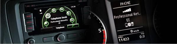 Genuine VW Bluetooth Handsfree for VW SKODA SEAT RNS510 RCD 510 RMS310 RNS315