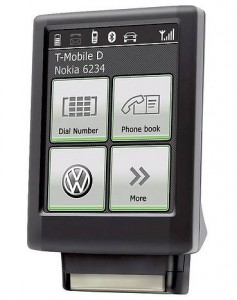 VW Bluetooth Touch Phone Kit