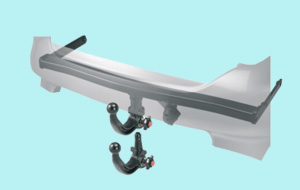Detachable Towbars for VW Audi Seat and Skoda