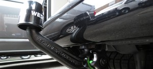 Westfalia Detachable Towbar for T5 Transporter