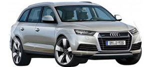 Audi Q7 4L Westfalia Tow Bar
