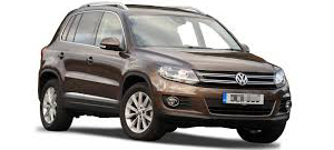 VW Tiguan Westfalia Tow Bar