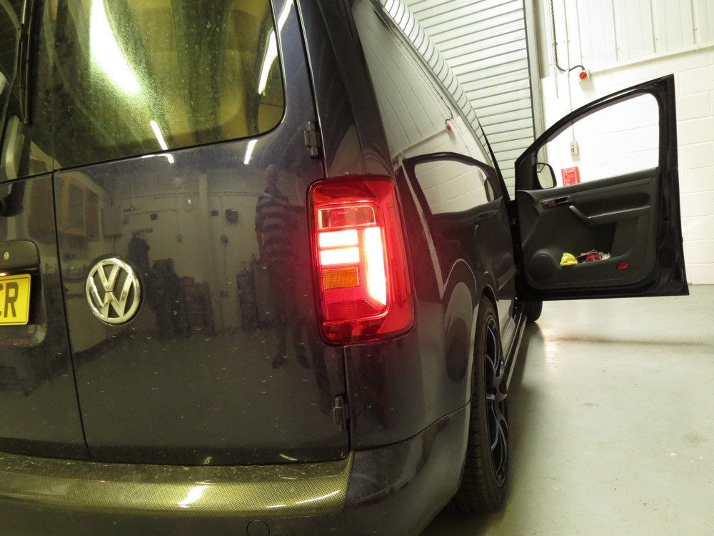 VW Caddy new lights NON Smoked version