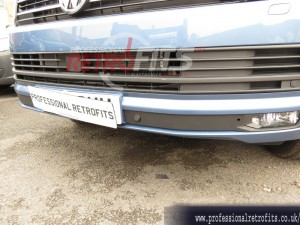 vw transporter t6 front and rear ops retrofit