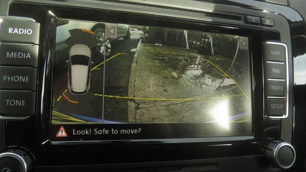 VW Touareg Rear View Camera - Professional Retrofits Limited