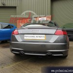 Audi TT 8S MK3 rear parking sensors fitted