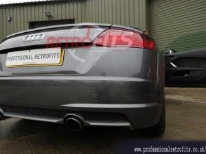 Audi TT 8S MK3 rear parking sensors fitted