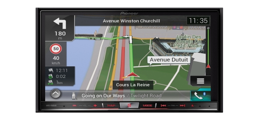 AVIC-F88DAB High-end navigation AV system with 7-inch Capacitive touchscreen, Apple CarPlay, Android Auto, Bluetooth, CD/DVD, HDMI and DAB+ radio