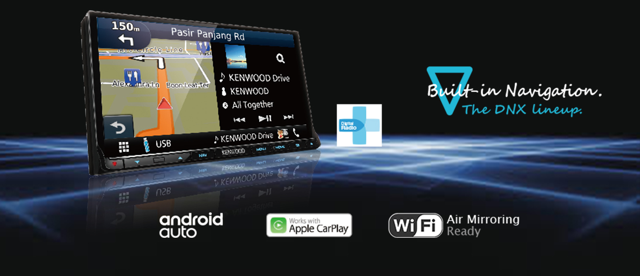 Apple CarPlay and Android Auto Navigation Systems For VW T5