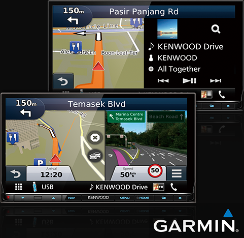 "Built-in Garmin Navigation Engine Equipped with the 12V industry standard Garmin navigation system, offering a variety of display options like ""Junction View with Lane Assist,"" ""3D Building Map,"" ""Intelligent Parking Assist,"" and ""Traffic Information""* to make your driving easy. *These functions may not be available in certain markets / countries."