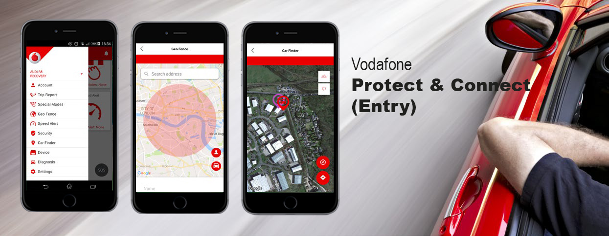 Vodafone Protect & Connect (Entry)