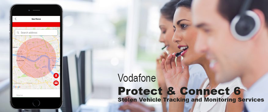 Vodafone Protect & Connect 6 GPS Tracking