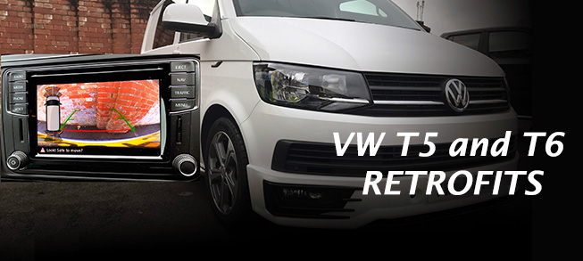 vw transporter t5 and t6 retrofits